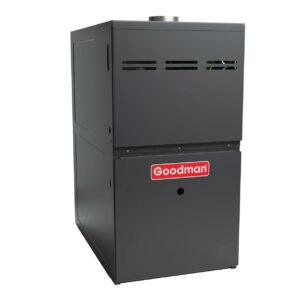 GDS8 Goodman Gas Furnace – 80% AFUE Performance Dedicated Installation Single-Stage, Multi-Speed