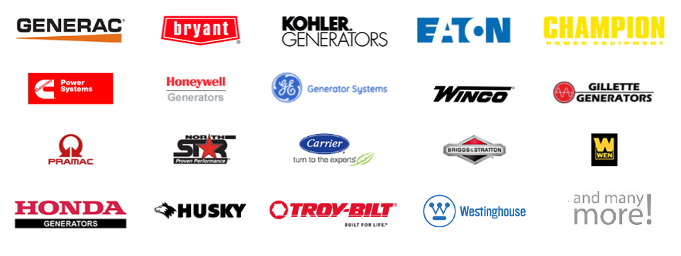 We Install Any Generator Brand or Model