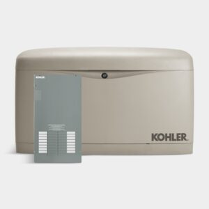 Kohler 14RESAL 14 kW Generator – Single Phase, Natural Gas|LPG, with Automatic Transfer Switch