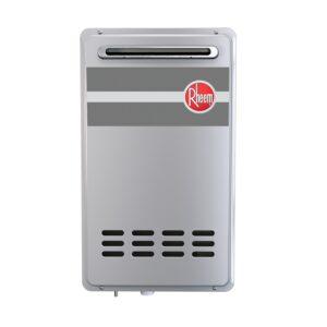 Rheem Mid Efficiency Outdoor Tankless Water Heater – EcoNet Enabled