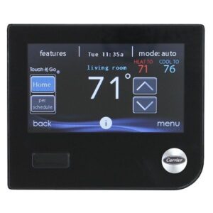 Carrier Infinity Remote Access Touch Control Programmable Thermostat