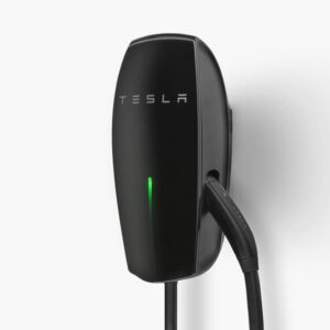 Tesla Gloss Black Wall Connector (Gen 2) Electric Vehicle (EV) Charger System