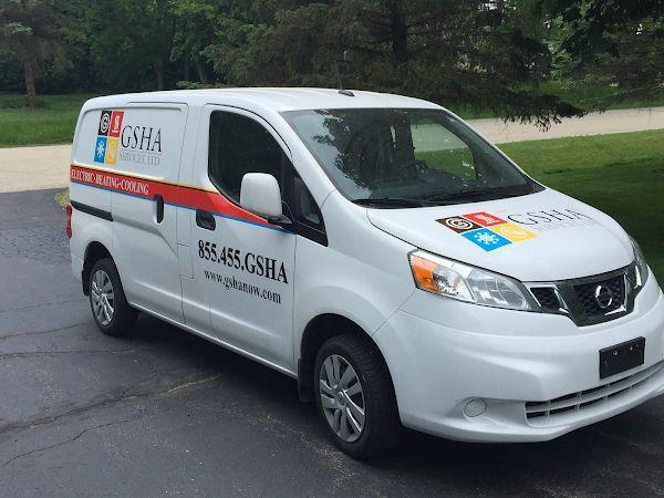 GSHA Services, LTD Service Car