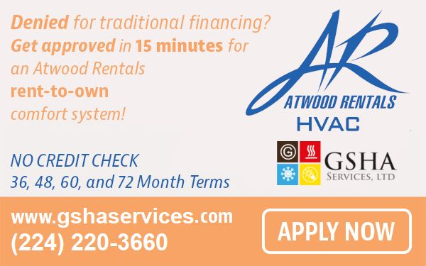 Apply Now for GSHA Services, LTD Rent-To-Own HVAC Comfort System
