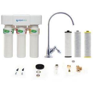 Aquasana Claryum 3-Stage Max Flow Rate Under Sink Water Filter