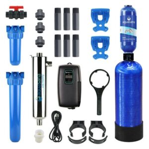 Aquasana Rhino Well Water with UV Whole House Well Water Filter System