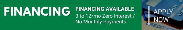 promo financing rabate